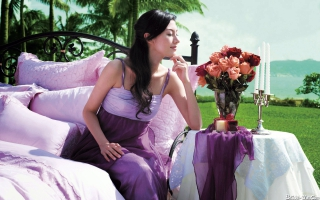 Michelle Reis Asian Model