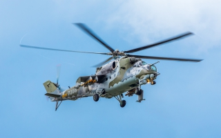 Mil Mi 24 Helicopter Gunship