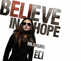 Mila Kunis Book of Eli