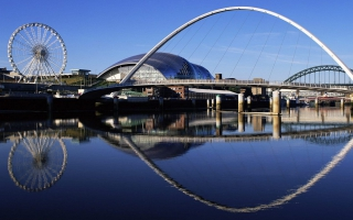 Millennium Bridge Widescreen England