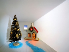 Mini Christmas scenery Wallpaper Christmas Holidays