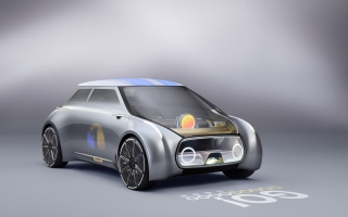 Mini Vision Next 100 Concept Car 4K