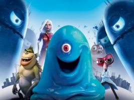 Monsters Vs Aliens Wallpaper Monsters vs Aliens Games