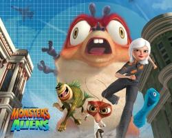 Monsters Vs Alines Movie