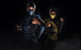 Mortal Kombat XL Sub Zero Scorpion Kosplay