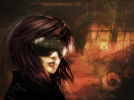 Motoko Wallpaper Japanese characters Anime Animated
