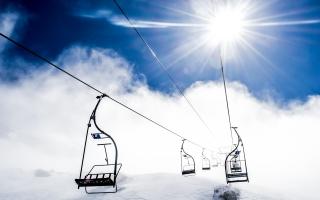 Mountain Ropeway Ski Resort