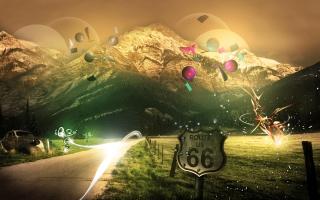 Mountains Route 66