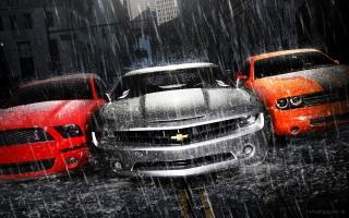 Mustang Camaro Dodge