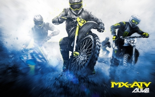 MX vs ATV Race