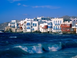 Mykonos Cyclades Islands Wallpaper Greece World