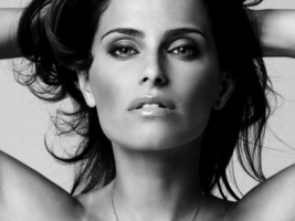Nelly Furtado Black and White Wallpaper Nelly Furtado Female celebrities
