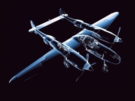 Neon Plane Wallpaper Abstract 3D