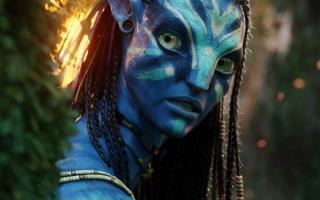Neytiri Beautiful Warrior in Avatar