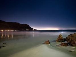 Night at beach Wallpaper Beaches Nature