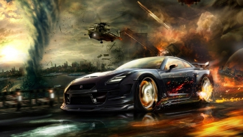 Nisaan GTR Race