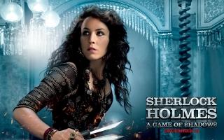 Noomi Rapace in Sherlock Holmes 2