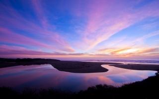 North Salmon Creek Beach Reflection