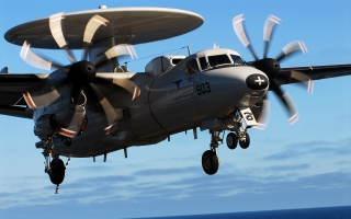 Northrop Grumman E 2 Hawkeye Amercian Military Aircraft