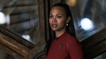 Nyota Uhura Star Trek Beyond Zoe Saldana