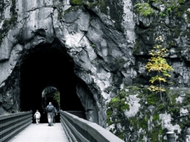 Othello Tunnels Wallpaper Landscape Nature
