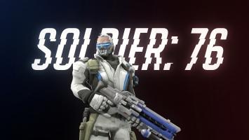 Overwatch Soldier 76 4K