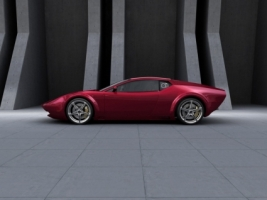 Panthera Concept Maroon Color Wallpaper Concept Cars