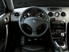 Peugeot 308 RCZ dashboard Wallpaper Peugeot Cars