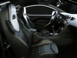 Peugeot 308 RCZ interior Wallpaper Peugeot Cars
