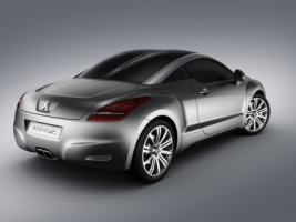 Peugeot 308 RCZ Rear and Side Wallpaper Peugeot Cars