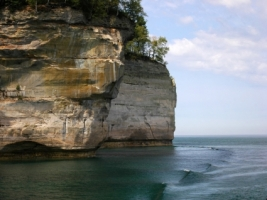 Pictured Rocks Wallpaper Landscape Nature