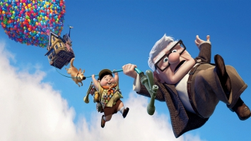 Pixar's UP Dual Monitor HD