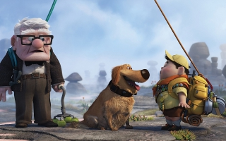 Pixar's UP Movie Widescreen