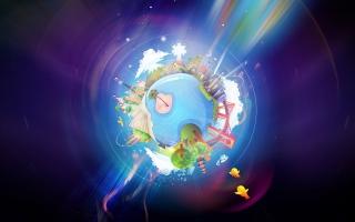 Planet Earth CGI