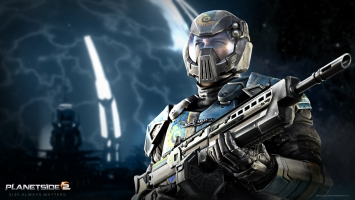 PlanetSide 2 Light Assault