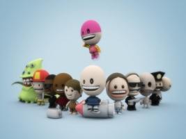 Plusone Wallpaper 3D Characters 3D