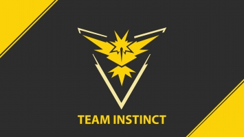 Pokemon Go Team Instinct Team Yellow 4K