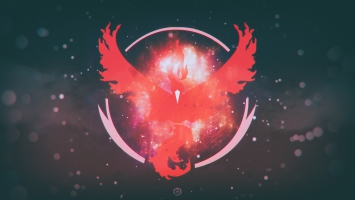 Pokemon Go Team Valor Team Red 4K