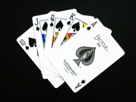 Poker Wallpaper Abstract 3D