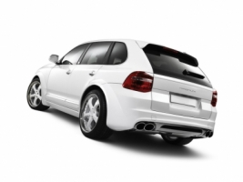 Porsche Cayenne TechArt Magnum Rear Angle Tilt Wallpaper Porsche Cars