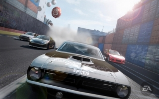 Pro Street Muscle Car Wallpaper NFS Games