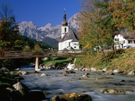 Ramsau Wallpaper Germany World