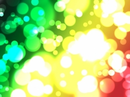 Rasta Lights Wallpaper Abstract 3D