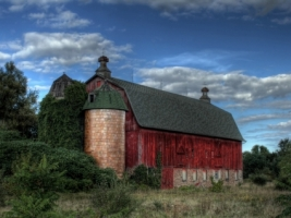 Red barn Wallpaper Miscellaneous Other