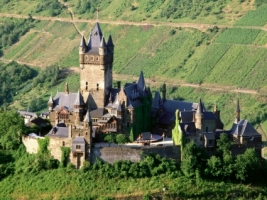 Reichsburg Castle Wallpaper Germany World