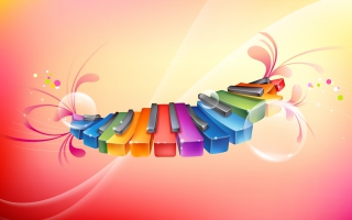 Rhythmic Colorful Piano