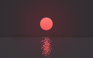 Ripple Sunset 4K