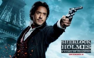 Robert Downey Jr in Sherlock Holmes 2
