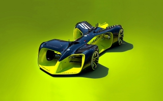 Roborace Driverless Electric Car