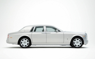 Rolls Royce Phantom Silver Side Wallpaper Rolls Royce Cars